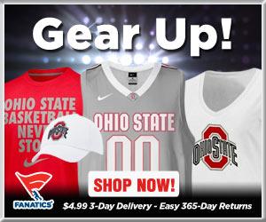 Shop Ohio State Buckeyes basketball gear at Fanatics!