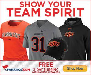 Shop Oklahoma State Cowboys gear at Fanatics!