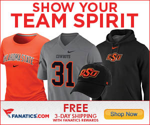 Shop for Oklahoma State Cowboys Gear at Fanatics!