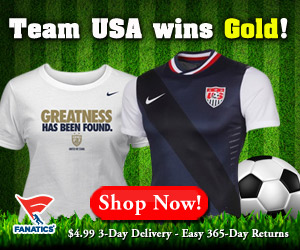 Shop for 2012 Olympic Womens Soccer Champions T-Shirts