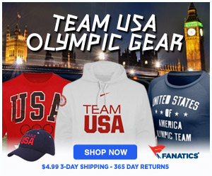 Shop TEAM USA 2012 Summer Olympic Gear at Fanatics!