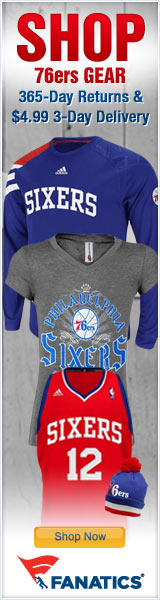 Shop for Official Philadelphia 76ers Team Gear at Fanatics!