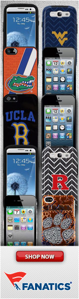 Shop your favorite college team's phone case & covers at Fanatics!