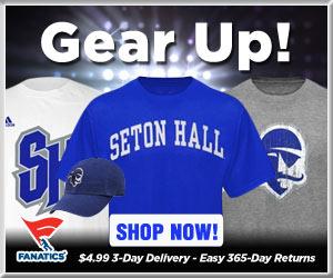 Shop Seton Hall Pirates basketball gear at Fanatics!