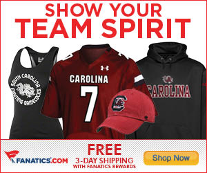 Shop for South Carolina Gamecocks Gear at Fanatics!