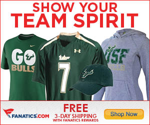 Shop South Florida Bulls gear at Fanatics!