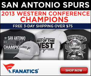 Shop for Supers 2013 NBA Western Conference Champs Merchandise at Fanatics