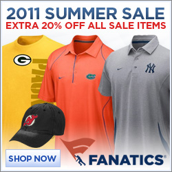 Save 20% on existing sale items in Fanatics Summer Sale