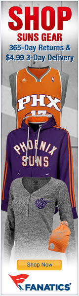 Shop for Official Phoenix Suns Team Gear at Fanatics!