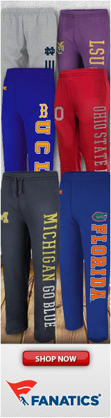 Get your favorite team's sweatpants & fleece pants at Fanatics!