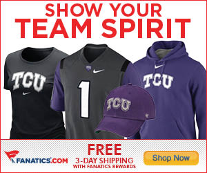 Shop TCU Horned Frogs Gear at Fanatics!