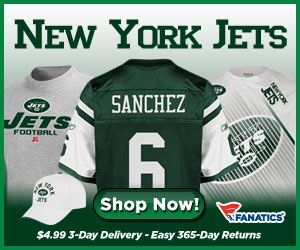 Shop for New York Jets Gear at Fanatics!