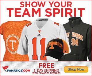 Shop Tennessee Volunteers Gear at Fanatics!