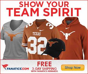 Shop for Texas Longhorns Gear at Fanatics