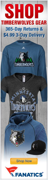 Shop for Official Minnesota Timberwolves Team Gear at Fanatics!