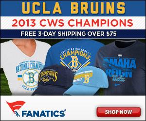 Shop for UCLA Bruins 2013 College World Series Champions Merchandise at Fanatics