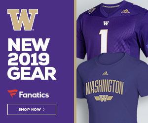 UW Huskies 2019 Fan Gear by adidas