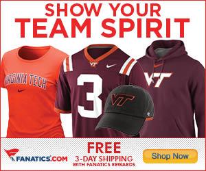Shop for Virginia Tech Hokies Gear at Fanatics!