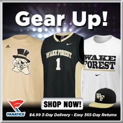 Shop for Wake Forest Demon Deacons Gear at Fanatics!