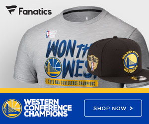 Golden State Warriors 2019 Conference Champs Gear