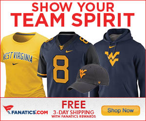 Shop for West Virginia Mountaineers Gear at Fanatics!