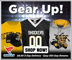 Shop Wichita State Shockers basketball gear at Fanatics!