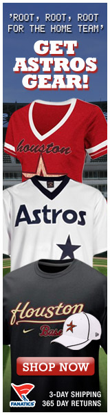 Shop for officially licensed Houston Astros apparel and accessories from Fanatics!