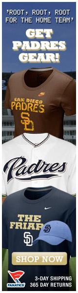 Shop for officially licensed San Diego Padres apparel and accessories from Fanatics!