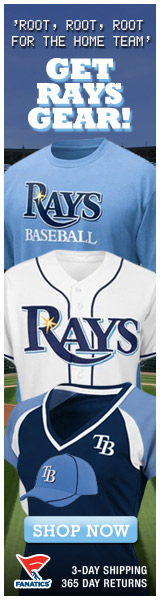 Shop for officially licensed Tampa Bay Rays apparel and accessories from Fanatics