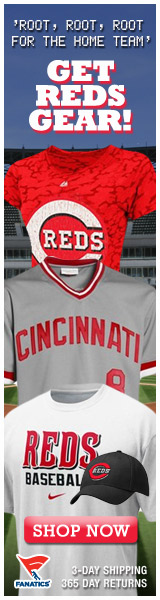 Shop for officially licensed Cincinnati Reds apparel and accessories from Fanatics!