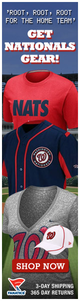Shop for officially licensed Washington Nationals apparel and accessories from Fanatics