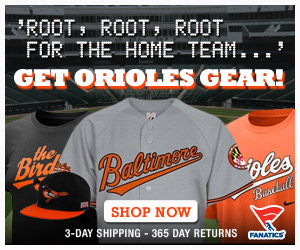 Licensed Baltimore Orioles Team Gear from Fanatics!