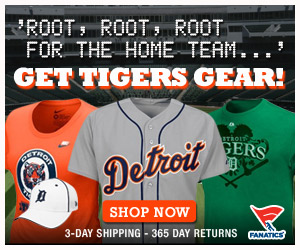 Shop for officially licensed Detroit Tigers apparel and accessories from Fanatics!
