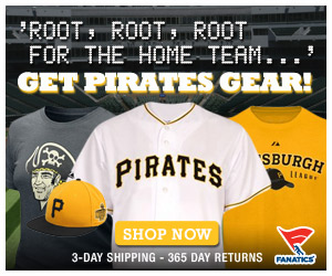 Shop for officially licensed Pittsburgh Pirates apparel and accessories from Fanatics!