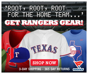 Shop for officially licensed Texas Rangers apparel and accessories from Fanatics