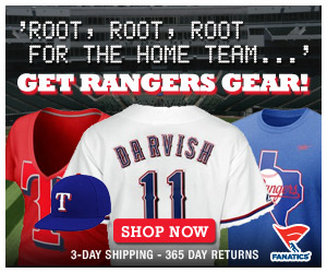 Shop for officially licensed Texas Rangers apparel and accessories from Fanatics!