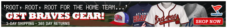 Shop for officially licensed Atlanta Braves apparel and accessories from Fanatics!