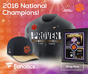 Clemson Tigers 2016 National Champions