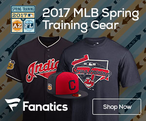 Shop for Cleveland Indians Spring Training Gear at Fanatics.com