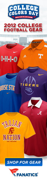 Support your team on College Colors Day (8/31) shop for gear at Fanatics!