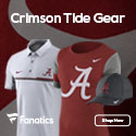 Alabama Crimson Tide gear at Fanatics.com