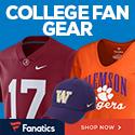 College Gear at Fanatics.com