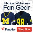 Michigan Wolverines gear at Fanatics.com