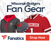 Wisconsin Badgers gear at Fanatics.com