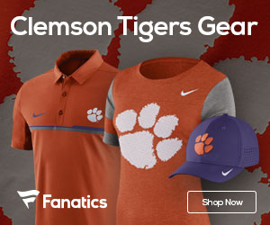Clemson Tigers gear at Fanatics.com
