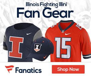 Illinois Fighting Illini gear at Fanatics.com