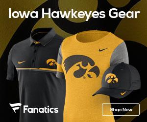Iowa Hawkeyes gear at Fanatics.com