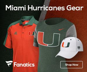 Miami Hurricanes gear at Fanatics.com