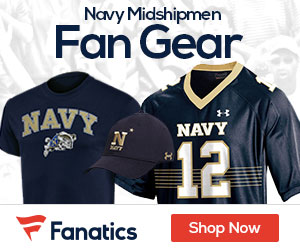 Navy Midshipmen gear at Fanatics.com