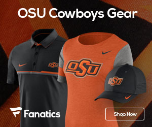 Oklahoma State Cowboys gear at Fanatics.com